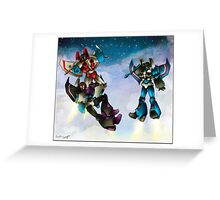 transformers seekers Greeting Card