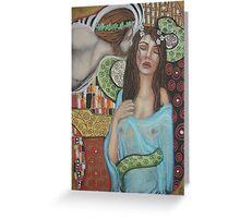 Ariadne and Dionysus Greeting Card