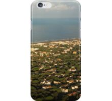Just Before Touch Down - Fiumicino, Rome, Italy iPhone Case/Skin