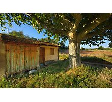 Cabanon in Provence Photographic Print