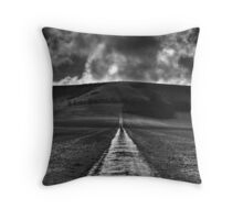 All roads must end Throw Pillow