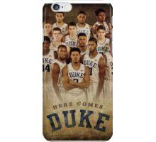 Duke basketball iPhone Case/Skin