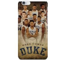 Duke basketball iPhone Case/Skin
