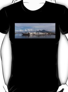 Vesuvius and the Boats T-Shirt