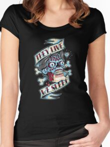 They Live...We Sleep Women's Fitted Scoop T-Shirt