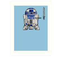 R2D2 LEONARDO Art Print