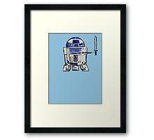 R2D2 LEONARDO Framed Print