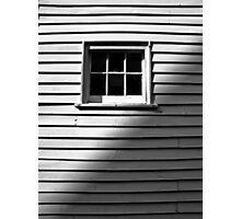 1 O'Clock shadow Photographic Print