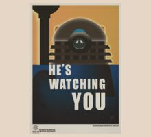 He is Watching You! by ToneCartoons