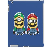 Super Minion Bros iPad Case/Skin