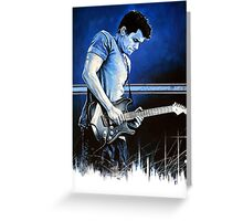 John Mayer Blues Greeting Card