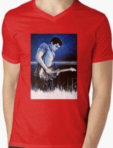 John Mayer Blues Mens V-Neck T-Shirt