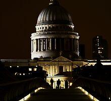 St Paul's 2 by Robert Worth