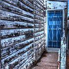 Blue door. by Ian Ramsay