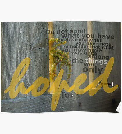 Golden Rod Poster