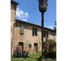 Sunday in Siena Photographic Print