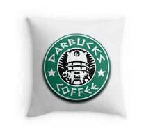 Darbucks Coffee Throw Pillow