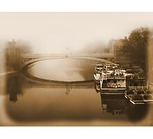 Of fog and river views Photographic Print