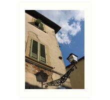 Finestre in Firenze Art Print