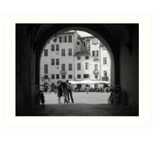 Lucca Art Print