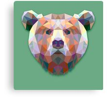 Bear Animals Gift Canvas Print