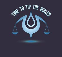 Tip the Scales! Womens Fitted T-Shirt