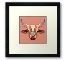 Bull Animals Gift Framed Print