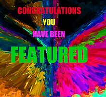 Congratulations You Have been Featured by Linda Miller Gesualdo