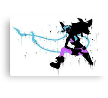 Jinx Ink Black Canvas Print