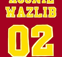 Roonil Wazlib Jersey design by applepiearts