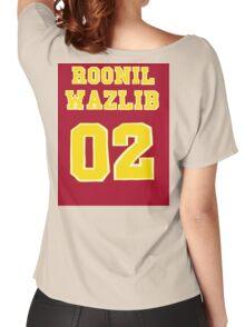 Roonil Wazlib Jersey design Women's Relaxed Fit T-Shirt