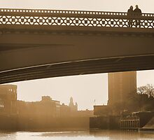 Between three bridges by clickinhistory