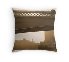Romance in the spring sunshine Throw Pillow