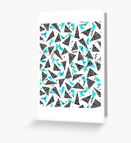 Missy - 80s Retro, Throwback Memphis Inspired Design Greeting Card