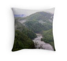 Little Tennessee River in May Throw Pillow