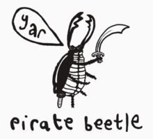 Pirate Beetle by lauriepink