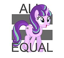 All Equal - Starlight Glimmer Photographic Print