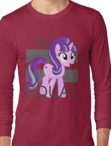 All Equal - Starlight Glimmer Long Sleeve T-Shirt