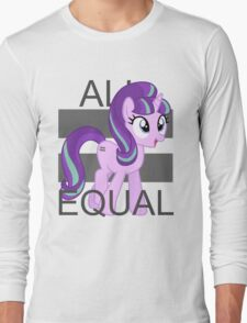 All Equal - Starlight Glimmer Long Sleeve T-Shirt