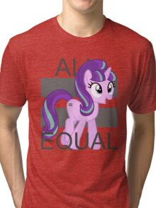 All Equal - Starlight Glimmer Tri-blend T-Shirt