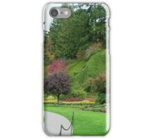 Butchart Gardens in the Fall iPhone Case/Skin