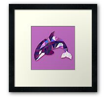 Orca Animals Gift Framed Print