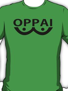 Oppai logo from Onepunch Man T-Shirt