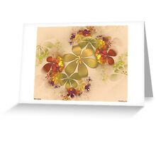 Mist in Spring Greeting Card