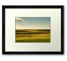 Uffington Field Framed Print