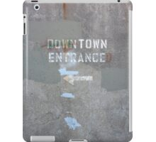 Downtown Entranced iPad Case/Skin