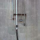 Flood Wall Pipes by Daniel Owens
