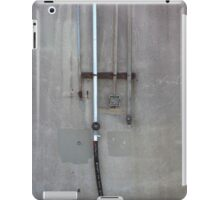 Flood Wall Pipes iPad Case/Skin