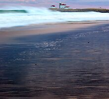 Breakers at the Light by Andrew Stockwell