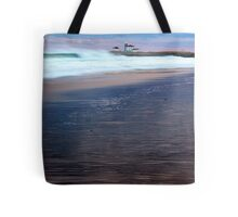 Breakers at the Light Tote Bag